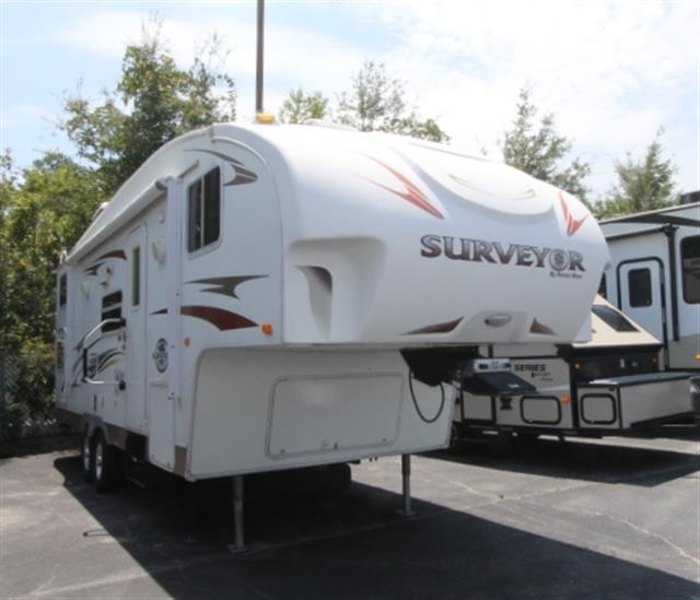Used 2008 Forest River Surveyor SVF260BH Fifth Wheel For Sale