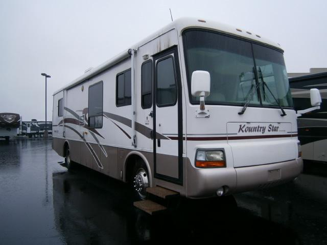 Buy a Used Newmar Kountry Star in Coburg, OR.