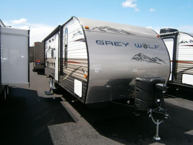 New 2015 Forest River Grey Wolf 23BD Travel Trailer For Sale