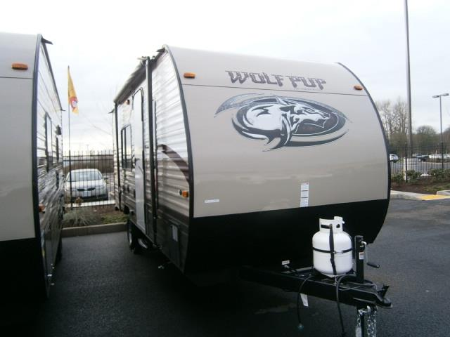 New 2015 Forest River WOLF PUP 16FQ Travel Trailer For Sale