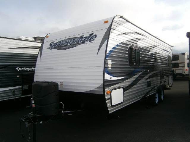 New 2015 Keystone Springdale 202QBWE Travel Trailer For Sale