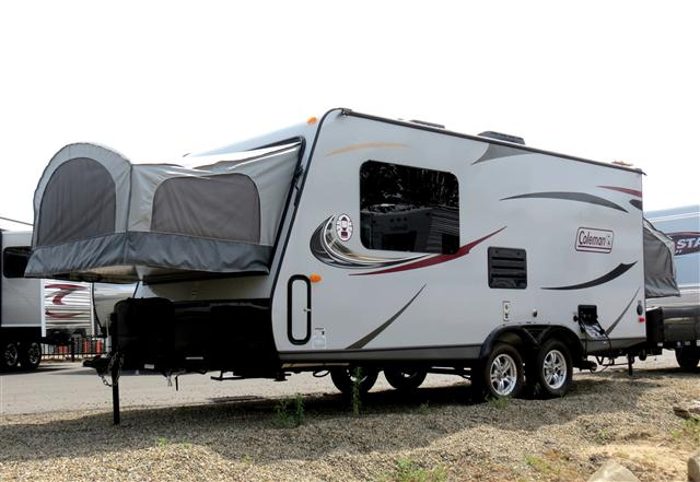 New 2014 Coleman Coleman Hybrid Travel Trailer For Sale In