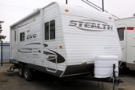 Used 2012 Forest River STEALTH 1850 Travel Trailer For Sale
