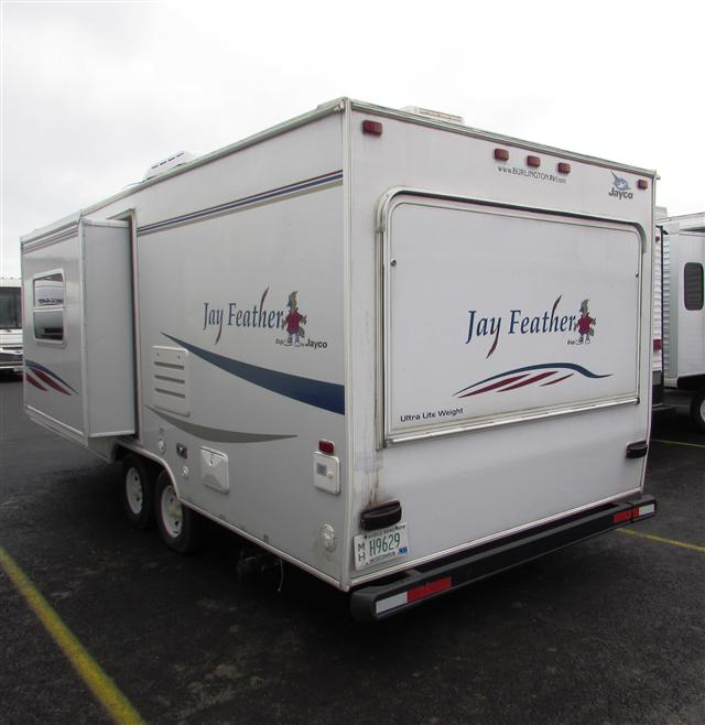 Jayco Travel Trailers: Used2007 Jayco Jay Feather Hybrid Travel Trailer For Sale