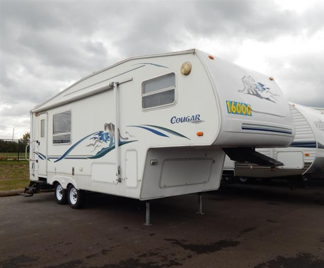 Used 2002 Keystone Cougar 245EFS Fifth Wheel For Sale