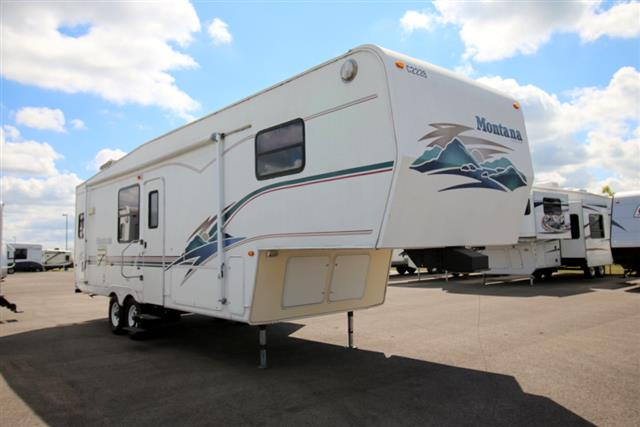 Used 1999 Keystone Montana 32RK Fifth Wheel For Sale