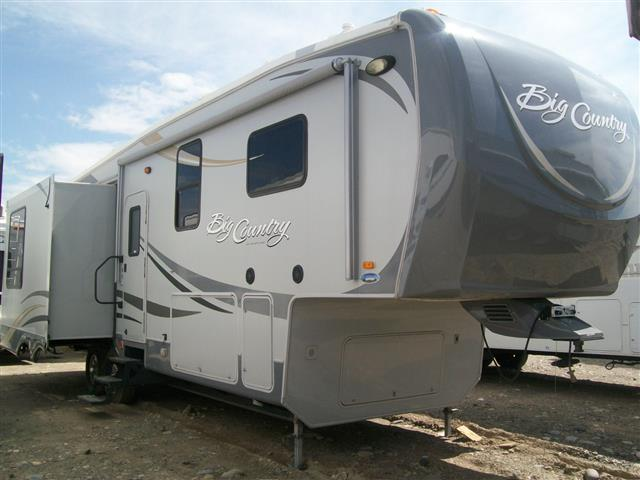 Used 2011 Heartland Big Country 3250 Fifth Wheel For Sale