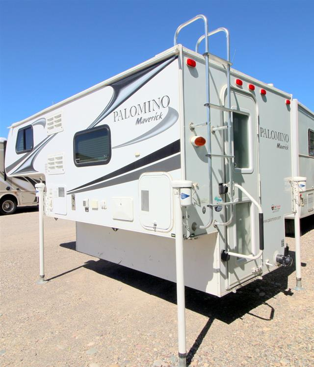 Used 2013 Palomino Maverick M-800 Truck Camper For Sale