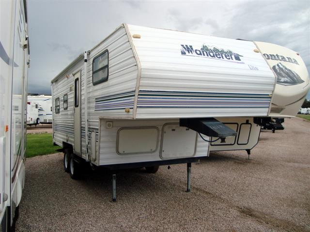 Used 1998 Wanderer Wanderer 215RL Fifth Wheel For Sale