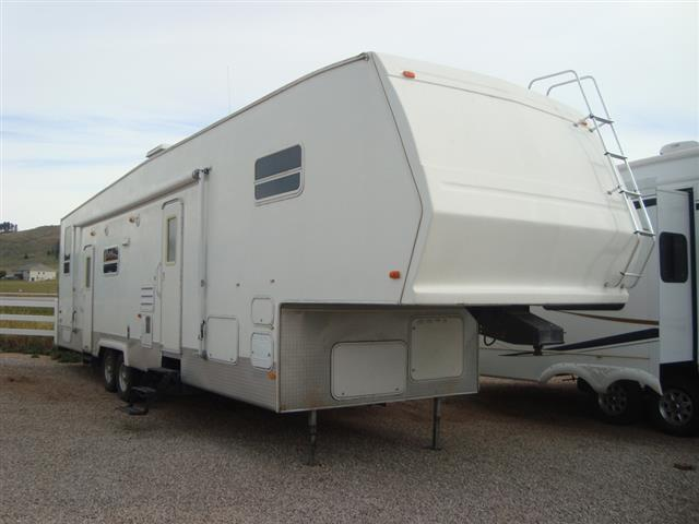Used 2006 Forest River Sierra M37SP Fifth Wheel Toyhauler For Sale