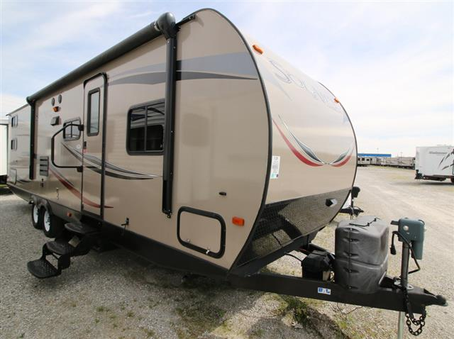 Used 2013 Forest River SOLAIRE ULTRA LITE 28QBSS Travel Trailer For Sale