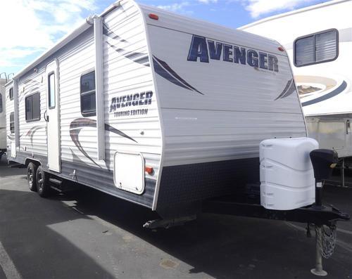 Used 2013 Heartland AVENGER T26BH Travel Trailer For Sale