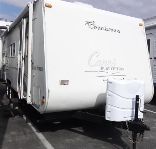 Used 2005 Coachmen Capri M-27 TBS Travel Trailer For Sale