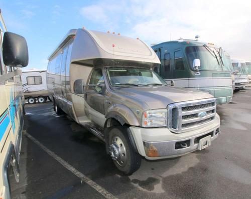 Kitchen : 2008-KRYSTAL MOTOR HOMES-33 FORD F550 V10