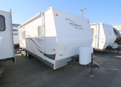 Bedroom : 2007-FLEETWOOD-24RKS