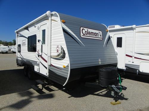 Used 2014 Coleman Coleman CTS184BH Travel Trailer For Sale
