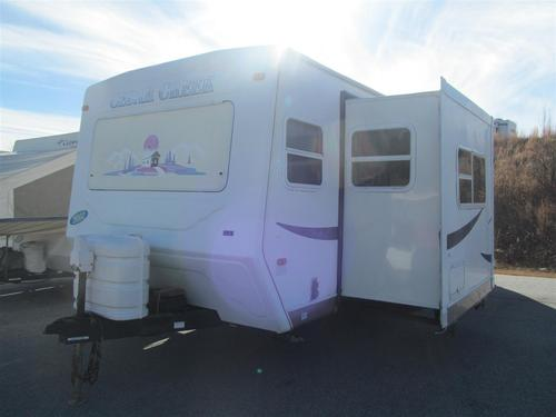 Used 2002 Forest River Cedar Creek M-26CKS Travel Trailer For Sale