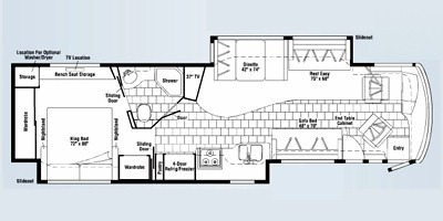 Floor Plan : 2008-WINNEBAGO-39Z