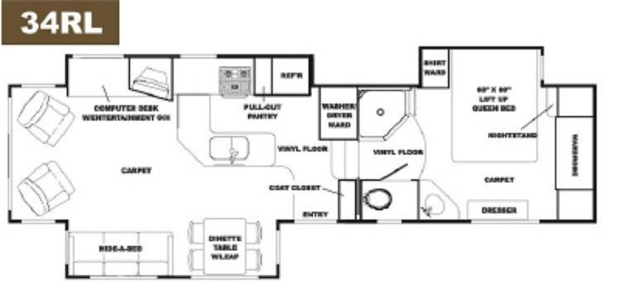 Alpenlite 5th Wheel Floor Plans Upcomingcarshq Com