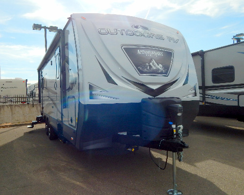 Bedroom : 2020-OUTDOORS RV-24RKS