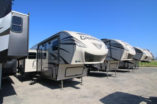 Exterior. New or Used Fifth Wheel Campers For Sale   RVs near Shreveport