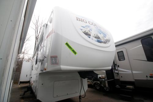 Used 2008 Heartland Big Country 3490BHS Fifth Wheel For Sale