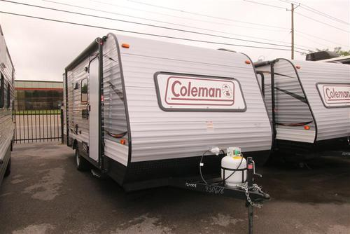 New 2016 Coleman Coleman CTS17BH Travel Trailer For Sale