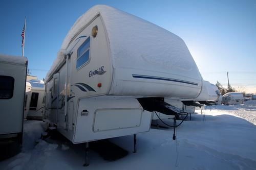 Used 2002 Keystone Cougar 28 Fifth Wheel For Sale