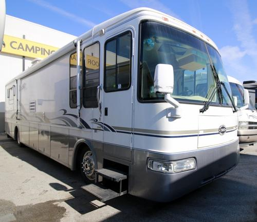 Used 2001 Rexhall Roseair 3950HL Class A - Diesel For Sale