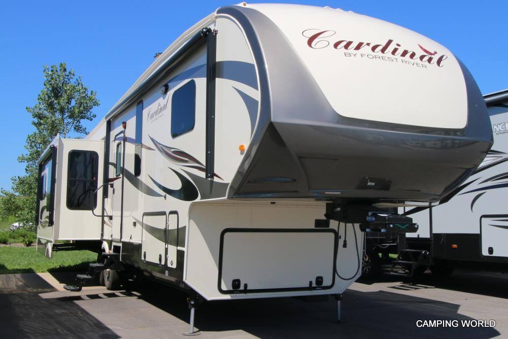 New 2016 Forest River Cardinal 3450rl Fifth Wheel For Sale
