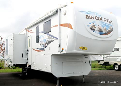 Used 2009 Heartland Big Country 3250TS Fifth Wheel For Sale