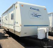 Used 2003 Keystone Cougar 293BHS Travel Trailer For Sale