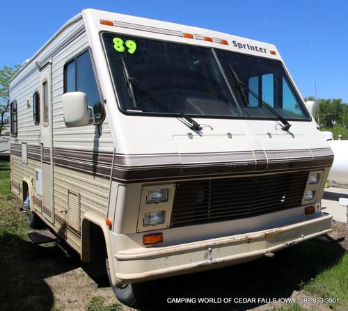 Used 1989 Fleetwood Sprinter 25SB Class A - Gas For Sale