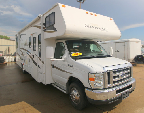 Exterior : 2012-FOREST RIVER-3100SS