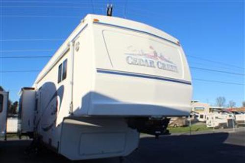 Used 2003 Forest River Cedar Creek 34RLTS Fifth Wheel For Sale