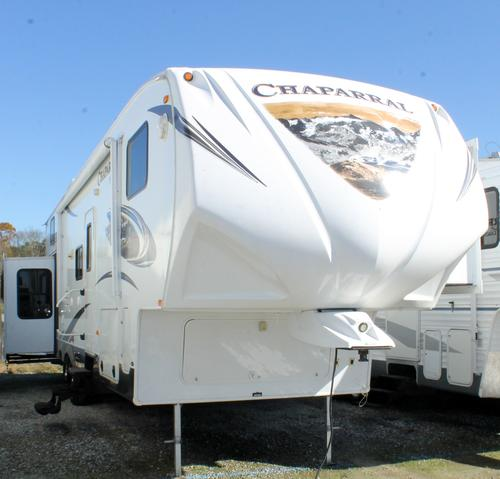 Used 2013 Coachmen Chaparral 355RLTS Fifth Wheel For Sale