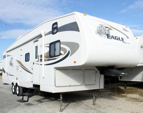 Used 2008 Jayco Eagle 31.5FBHS Fifth Wheel For Sale