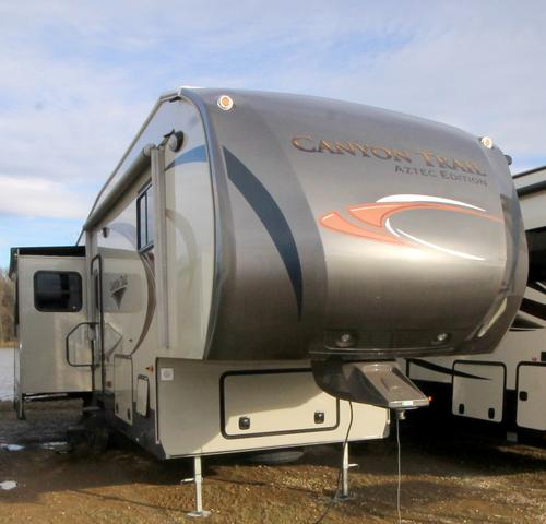 Used 2013 Yellowstone Canyon Trail 33FRET Fifth Wheel For Sale