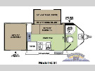 Floor Plan : 2014-FOREST RIVER-6504