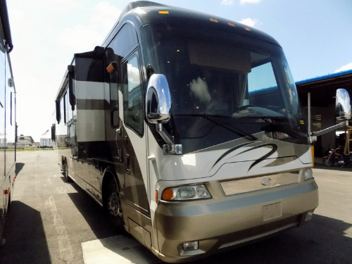 Exterior : 2007-COUNTRY COACH-REMBRANDT 525 QUAD SLIDE