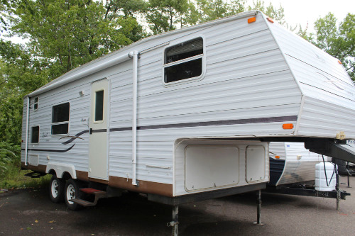 Bathroom : 2002-JAYCO-265B