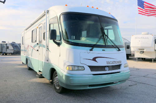 Exterior : 2000-HOLIDAY RAMBLER-31CG FORD