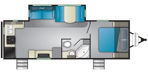 Floor Plan : 2019-HEARTLAND-M25