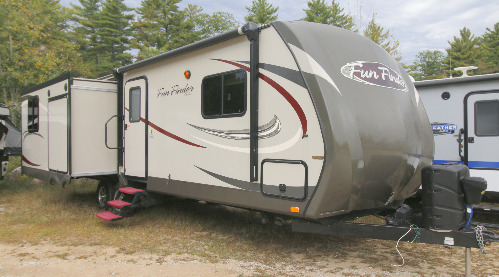 Exterior : 2013-CRUISER RV-267RES