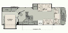 Floor Plan : 2010-FLEETWOOD-30SA