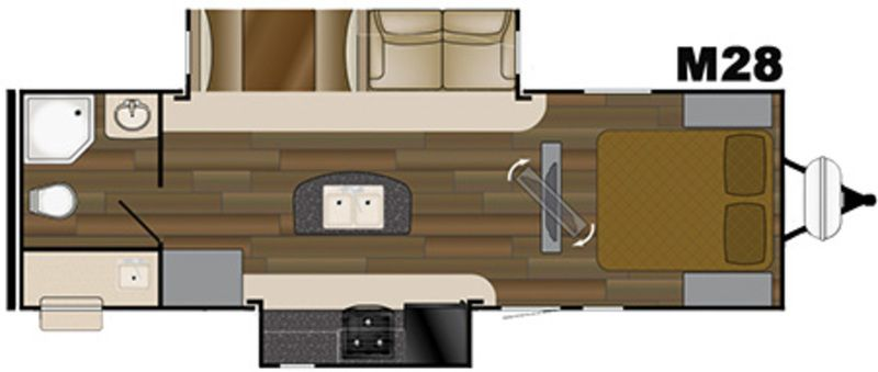 rockwood trailer floor plans flagstaff rv trailer floor