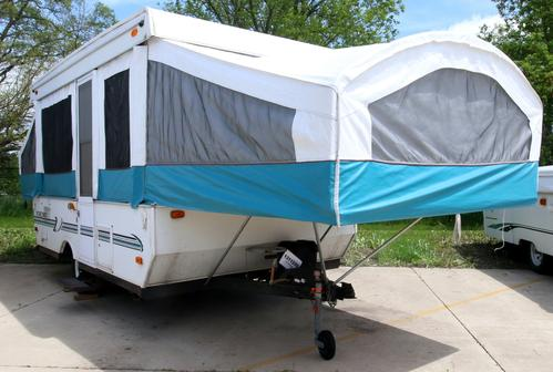 Used 1998 Palomino Viking 2470 Pop Up For Sale