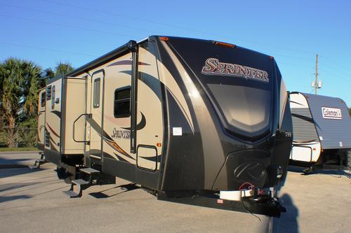New 2016 Keystone Sprinter 316BIK Travel Trailer For Sale