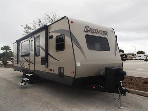 New 2016 Keystone Sprinter 29FK Travel Trailer For Sale