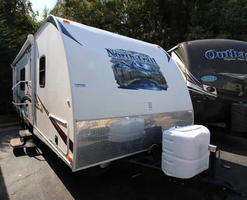 Used 2011 Heartland North Trail 27RBS Travel Trailer For Sale